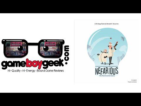The Game Boy Geek Reviews Nefarious