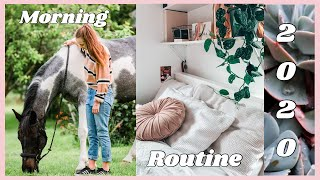MORNING ROUTINE 2020 || EQUESTRIAN