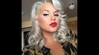 Vintage Style Glam Hair Tutorial
