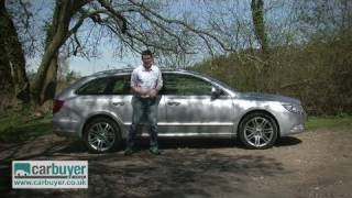 Skoda Superb estate review - CarBuyer
