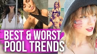Weird Celebrity Summer Beach Trends (Dirty Laundry) by Clevver Style