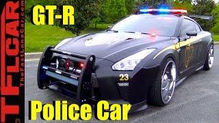 Copzilla! Meet the Nissan GT-R Cop Car
