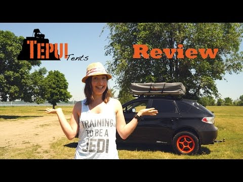 Tepui Kukenam Sky Rooftop Tent | Petite Stephy