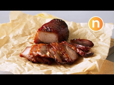 Chinese Roasted BBQ Pork | Char Siew | Char Siu | 叉燒 [Nyonya Cooking]