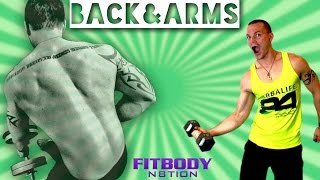Back & Arm Workout Week 1 by Trainer Ben