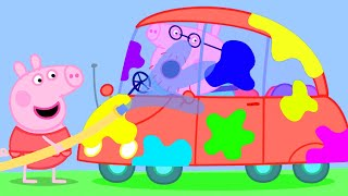 Peppa Pig Official Channel | Cleaning The Car | Peppa Pig Episodes