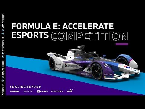 ABBフォーミュラE Accelerate 第5戦(e-sport) フルレース動画