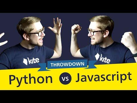 Javascript vs Python THROWDOWN - Which should YOU use? (2020)