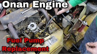 How To Bypass A Fuel Pump On An Onan Engine