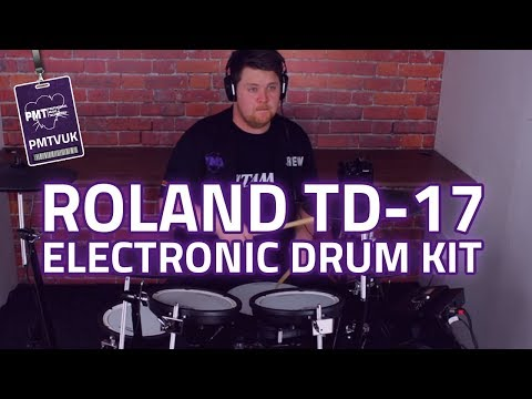 Roland TD-17KVX V-Drums Electronic Drum Kit Review & In depth Demo