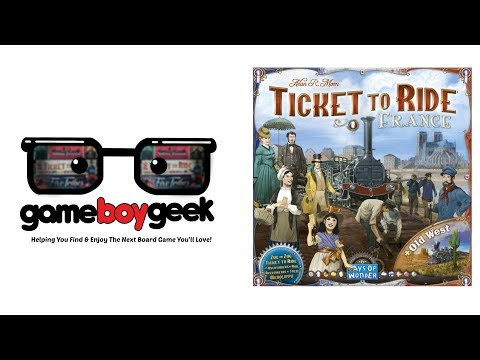The Game Boy Geek Reviews Ticket to Ride France & Old West