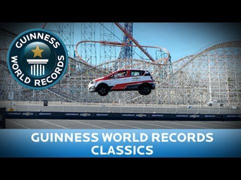 Rob Dyrdek's Farthest Car Jump…BACKWARDS