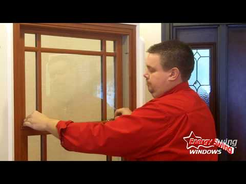 Real wood windows, brought to you by ProVia, are a specialty item that we offer at Energy Swing Windows. In this video, Chris Saxton, client consultant, goes over product design options as well as window operation.