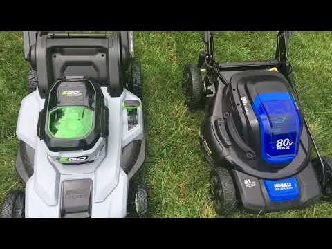Kobalt vs EGO Electric Mower Showdown!