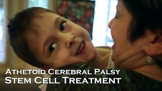 Ashley, Athetoid Cerebral Palsy | Stem Cell Treatment Testimonial