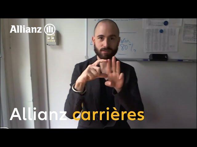 Allianz en langue des signes