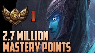 BRONZE KALISTA 2,700,000 MASTERY POINTS- Spectate Highest Mastery Points on Kalista
