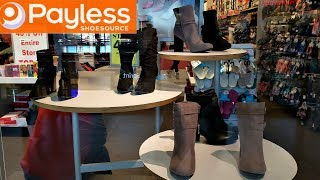 PAYLESS SHOE STORE BROWSE WITH ME BOOTS SNEAKERS 2018