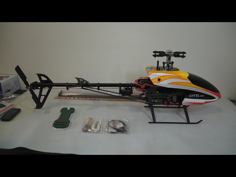 Zonda Hobby DTS500 Electric RC 3D Helicopter Unboxing Review