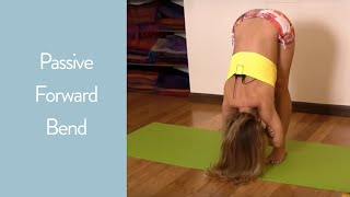Easy Yoga Passive Stretch for Forward Bend with Kino