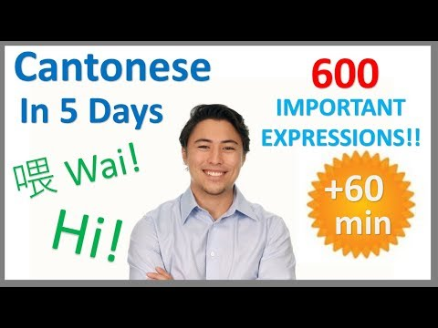 Learn Cantonese in 5 Days - Conversation for Beginners - YouTube