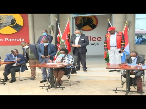 Kalonzo hints at a coalition between Wiper and Jubilee