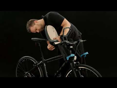 Thule RideAlong 100106 hátsó kerékpáros gyerekülés, sötétszürke