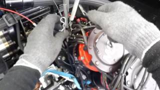 Funny Car engine teardown