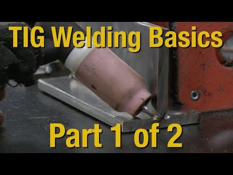 Welding Basics & How-To TIG Weld - Livestream Part 1 of 2 - Eastwood