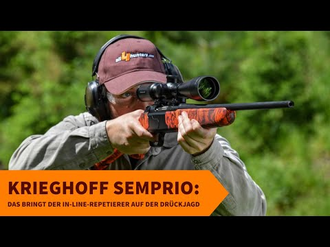 krieghoff: Test und Video: Krieghoff Semprio für die Drückjagd in Kaliber .30-06 Springfield