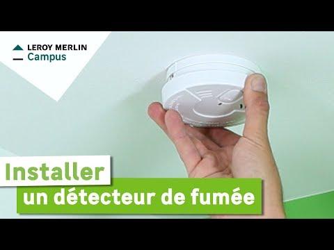 Comment installer un détecteur de fumée ? Leroy Merlin