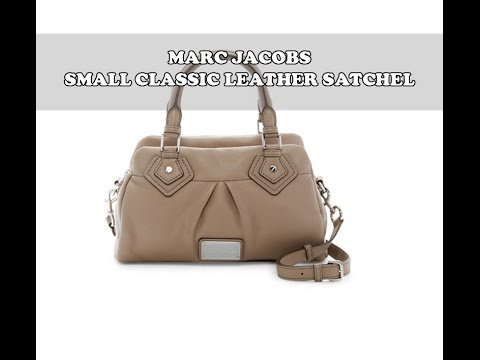 Marc by Marc Jacobs Small Classic Leather Satchel Handbag Review