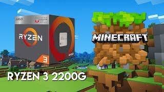 GeForce GTX 1050 ti -- AMD Ryzen 3 1300X -- Minecraft FPS Test
