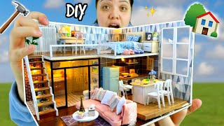 I Built My Dream Miniature Home! Smallest House In The World