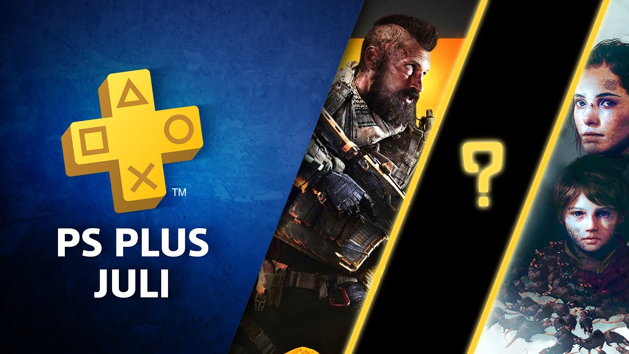 PlayStation Plus-Spiele im Juli: Call of Duty: Black Ops 4, WWE 2K Battlegrounds, A Plague Tale: Innocence