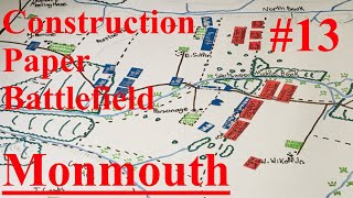Monmouth Animated Battle Map! - Construction Paper Battlefield #13