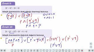 Eğitim Vadisi TYT Matematik 36.Föy Mantık Konu Anlatım Videoları