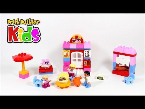 Vidéo LEGO Duplo 10587 : Le café