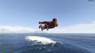 Khám phá thế giới GTA 5 #8 - Khi Iron Man đi săn cá mập ^^