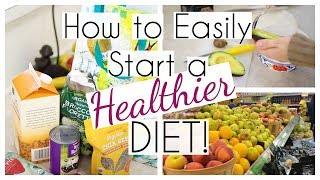 How to Easily Start a Healthier Diet (When You love Junkie Foods!)
