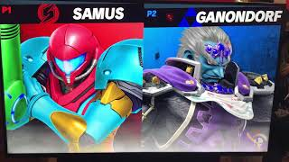 Smash Ultimate: Spenpai (Samus) vs BSK (Ganondorf).