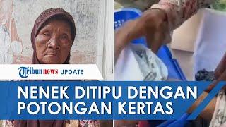 Kisah Nenek Sariyo Penjual Piring Bekas yang Di-prank Bungkusan Berisi Potongan Kertas: Saya Kecewa