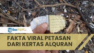 Heboh Viral Video Petasan dari Kertas Alquran, Ini Faktanya, Polisi hingga TNI Datangi Lokasi
