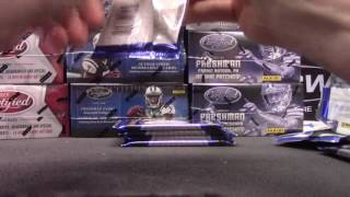 2012 thru 2015 Certified & Totally Certified NFL 20 Box Serial #s GB