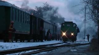 Parní lokomotiva 213.902 Pražský Semmering 4. a 5.2.2012