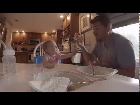 Fantastisk: Døve Kevin synger med sin døve datter