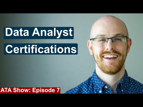 Data Analyst Certifications | Are They Worth It? | Alex The Analyst Show | Episode 7