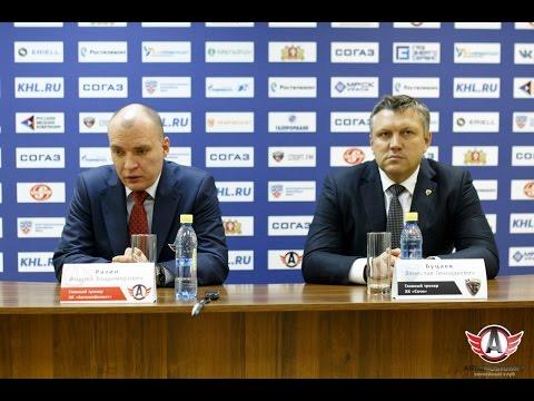"""""""Автомобилист"""" 1-4 """"ХК """"Сочи"""": Пресс-конференция"""