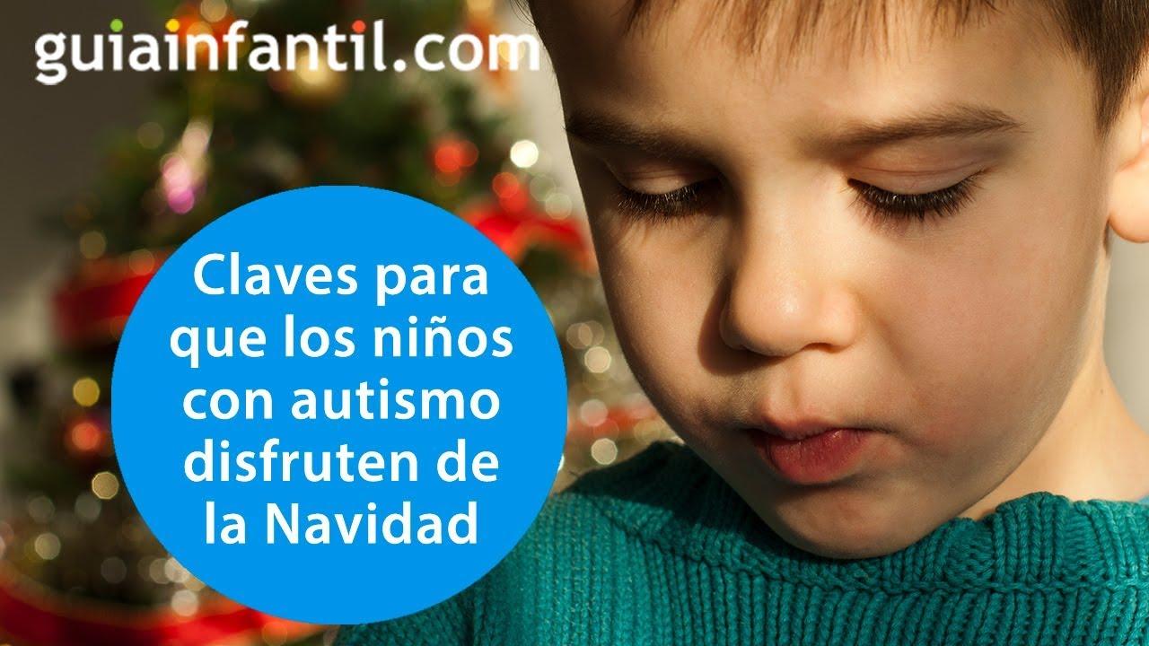 Cómo disfrutar de la Navidad con un niño con autismo