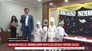Konya'da minikler Kur'an-ı Kerim okumayı öğrendi